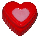 Two Toned Heart Soap Bar #1