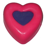 Two Toned Heart Soap Bar #2