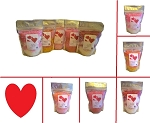 Valentine's Bath Salts - (5) 1lb Bags ~ Valentines Day Gift Set ~ Five Scents #1
